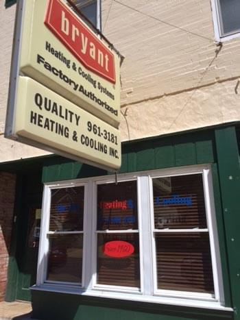 Quality Heating and Cooling Building